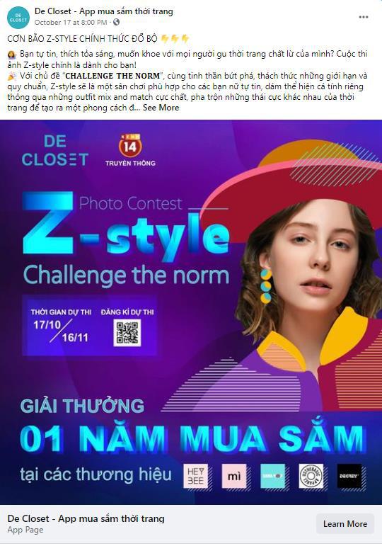 Z-Style, cuộc thi mix & match thời trang chất lừ dành riêng cho gen Z - Ảnh 3.