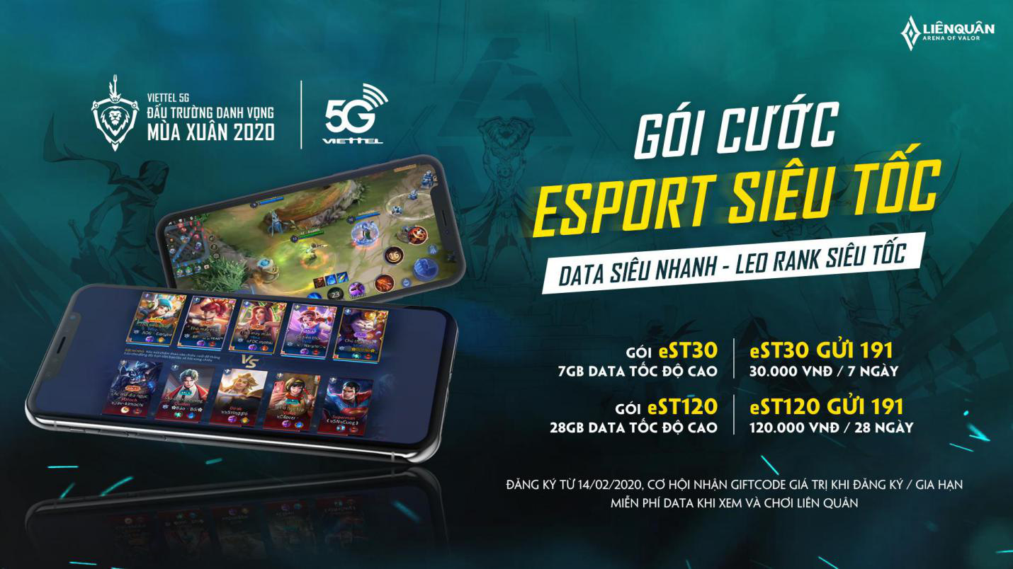 """Viettel Telecom phối hợp cùng Liên Quân Mobile công bố gói data """"eSport siêu tốc"""" - Ảnh 2."""