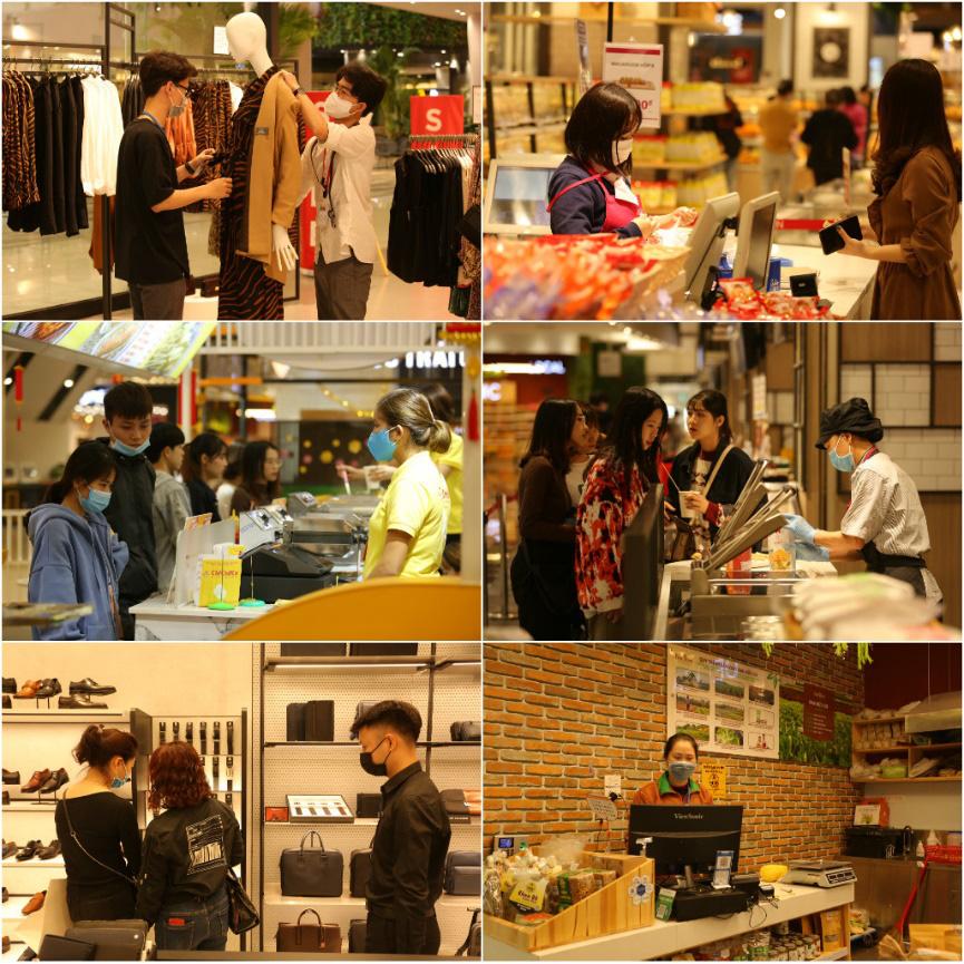 Thêm an tâm khi tham quan, mua sắm, vui chơi tại TTTM Hà Nội nhờ hàng loạt biện pháp bảo vệ sức khỏe - Ảnh 6.