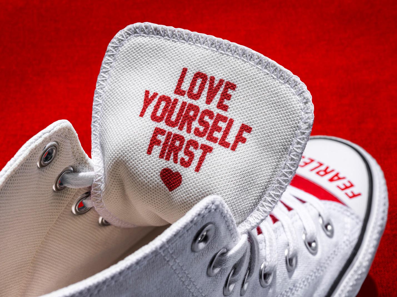 """Converse cho ra mắt BST được thiết kế từ thông điệp hợp thời 4.0 """"Love Yourself First"""" - Ảnh 3."""