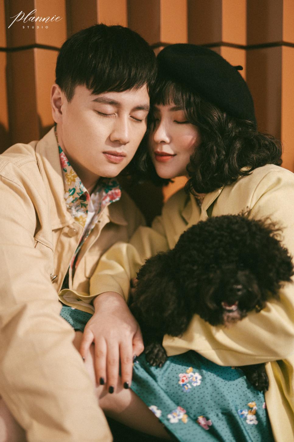 Kiên Hoàng – Heo Mi Nhon: Valentine ý nghĩa nhất chính là ở bên Cam Cam - Ảnh 2.