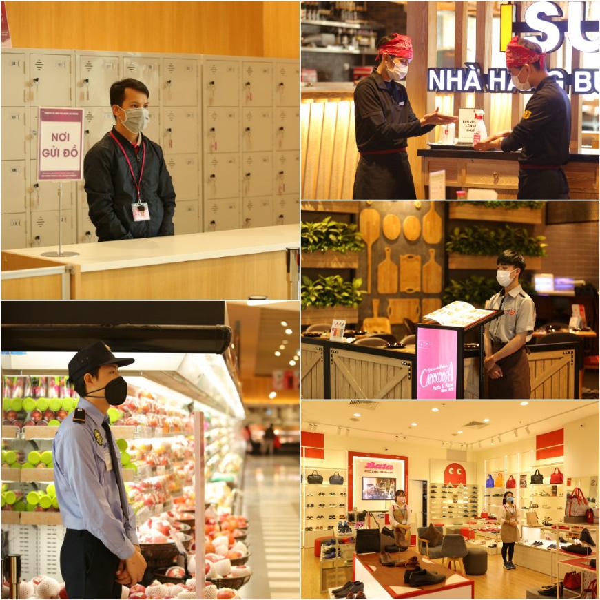 Thêm an tâm khi tham quan, mua sắm, vui chơi tại TTTM Hà Nội nhờ hàng loạt biện pháp bảo vệ sức khỏe - Ảnh 5.