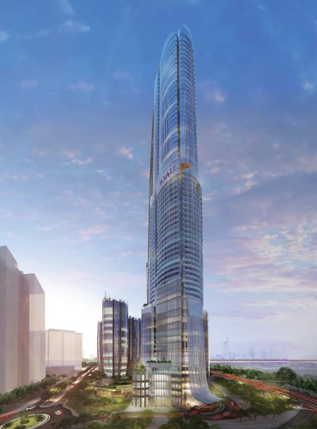 Thêm một công trình siêu cao tầng tại thành phố Hồ Chí Minh - Ảnh 1.