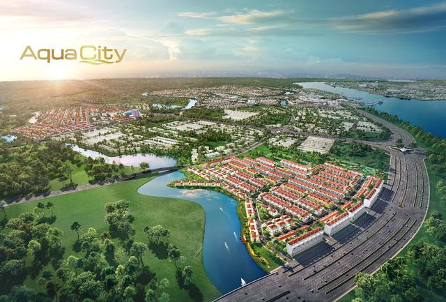 Bất động sản sinh thái phía Đông Sài Gòn hút nhà đầu tư đất Bắc - Ảnh 1.