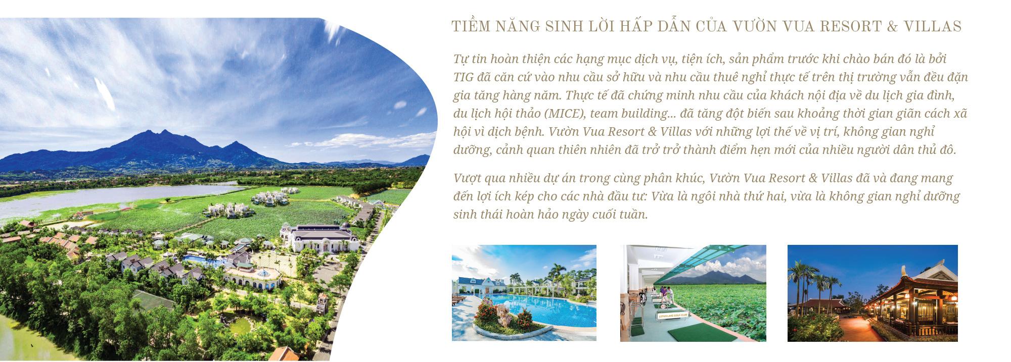 """Đón đầu xu hướng sở hữu ngôi nhà thứ hai, Vườn Vua Resort & Villas thu hút nhà đầu tư với """"lợi ích kép"""" sáng giá - Ảnh 10."""