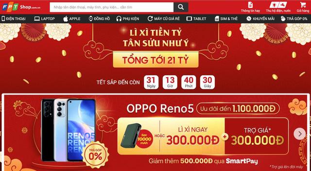 OPPO Reno5 mở ưu đãi hấp dẫn tại FPT Shop tri ân khách hàng Tết 2021 - Ảnh 3.