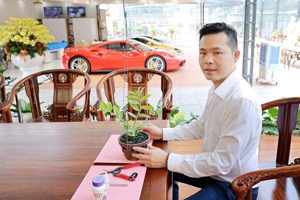 Trương Tấn Lợi - ông chủ 8X mở vườn lan từ đam mê - Ảnh 2.