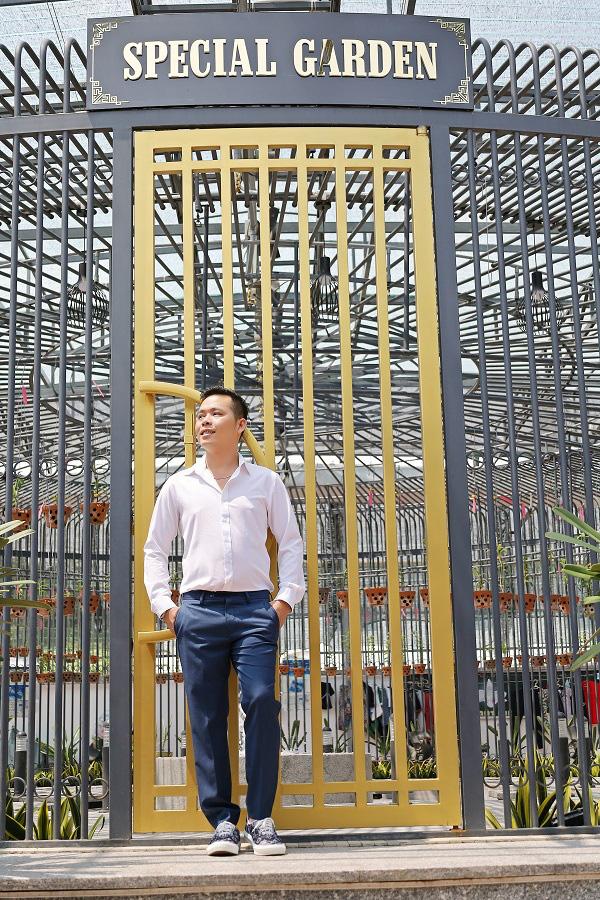 Trương Tấn Lợi - ông chủ 8X mở vườn lan từ đam mê - Ảnh 4.