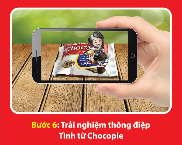 Gây ngạc nhiên cho người ấy bằng thông điệp 3D độc đáo của Chocopie 9