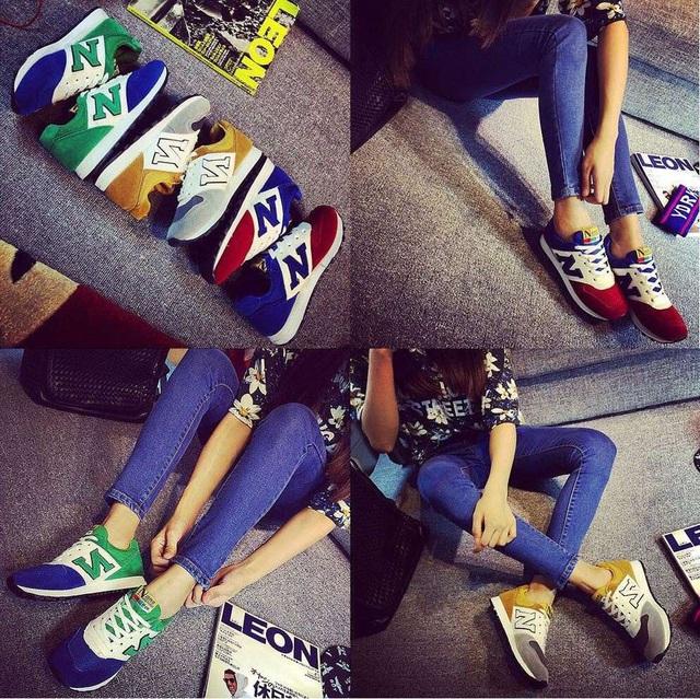 Những xu hướng giày thu hút giới trẻ
