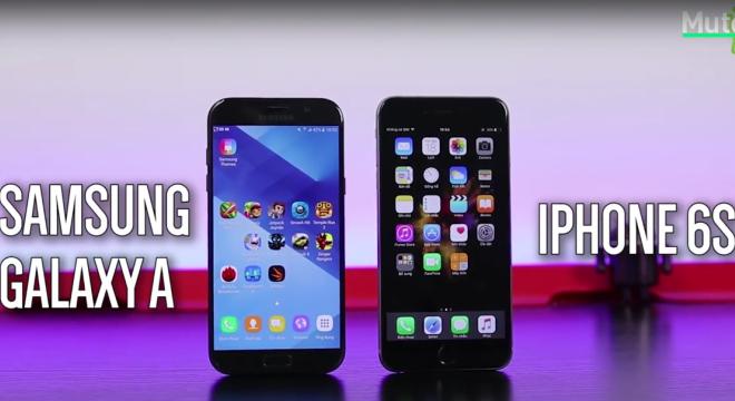 Camera trên Galaxy A 2017 tốt hơn iPhone 6s Plus như thế nào?