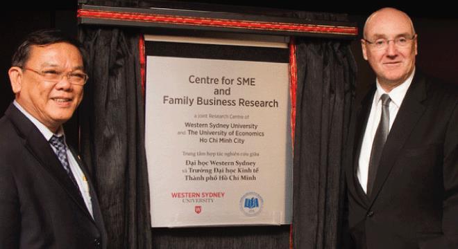 Đại học Kinh tế TPHCM và Western Sydney khánh thành trung tâm hợp tác nghiên cứu tại Parramatta campus