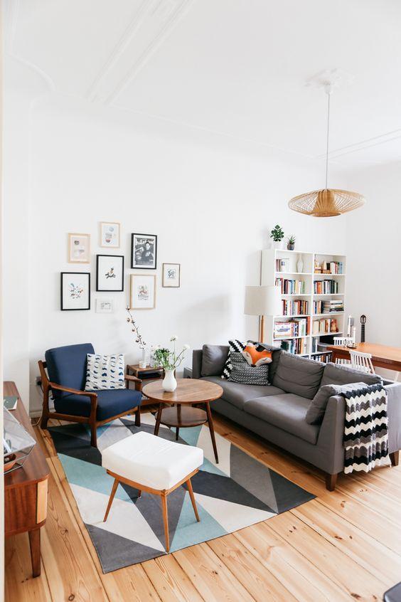 Đồ nội thất đơn giản, hiện đại giúp không gian linh hoạt hơn