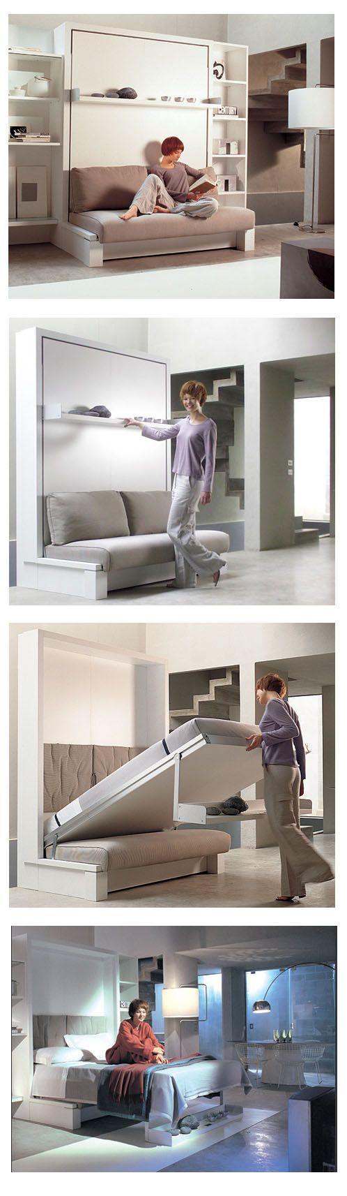 Kệ tủ kết hợp bàn làm việc, gường ngủ