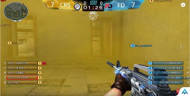 Thế trận giằng co được giải quyết khi Freedom Gaming ấn định tỷ số 10-8 cho map 1