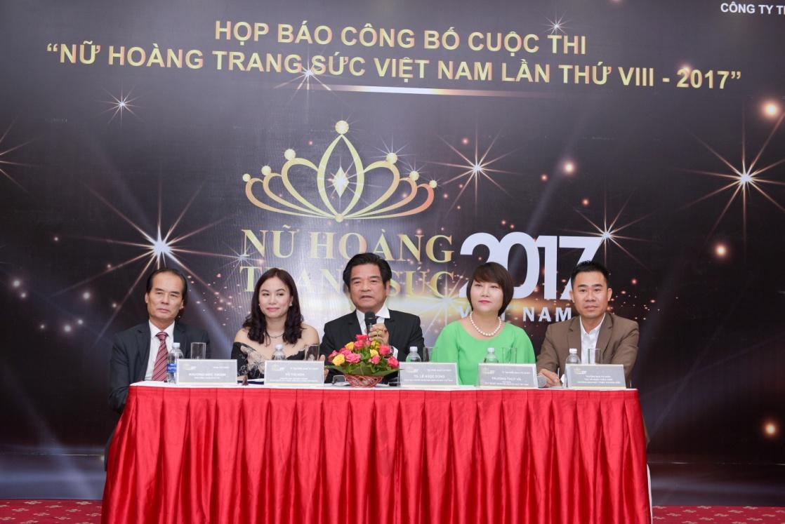 Tiết lộ thương hiệu lớn sát cánh cùng cuộc thi Nữ hoàng trang sức Việt Nam năm 2017