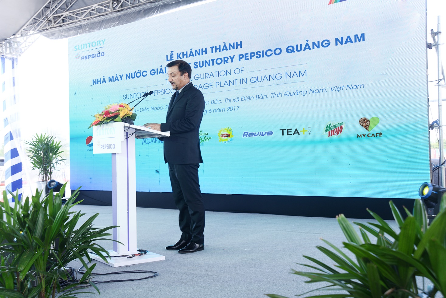 """Tổng Giám đốc Suntory PepsiCo: """"Chúng tôi chú trọng yếu tố bảo vệ môi trường và tiện ích cho nhân viên"""""""