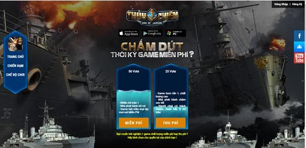 Ra mắt teaser, Thủy Chiến cho cộng đồng chọn thu phí hay miễn phí?