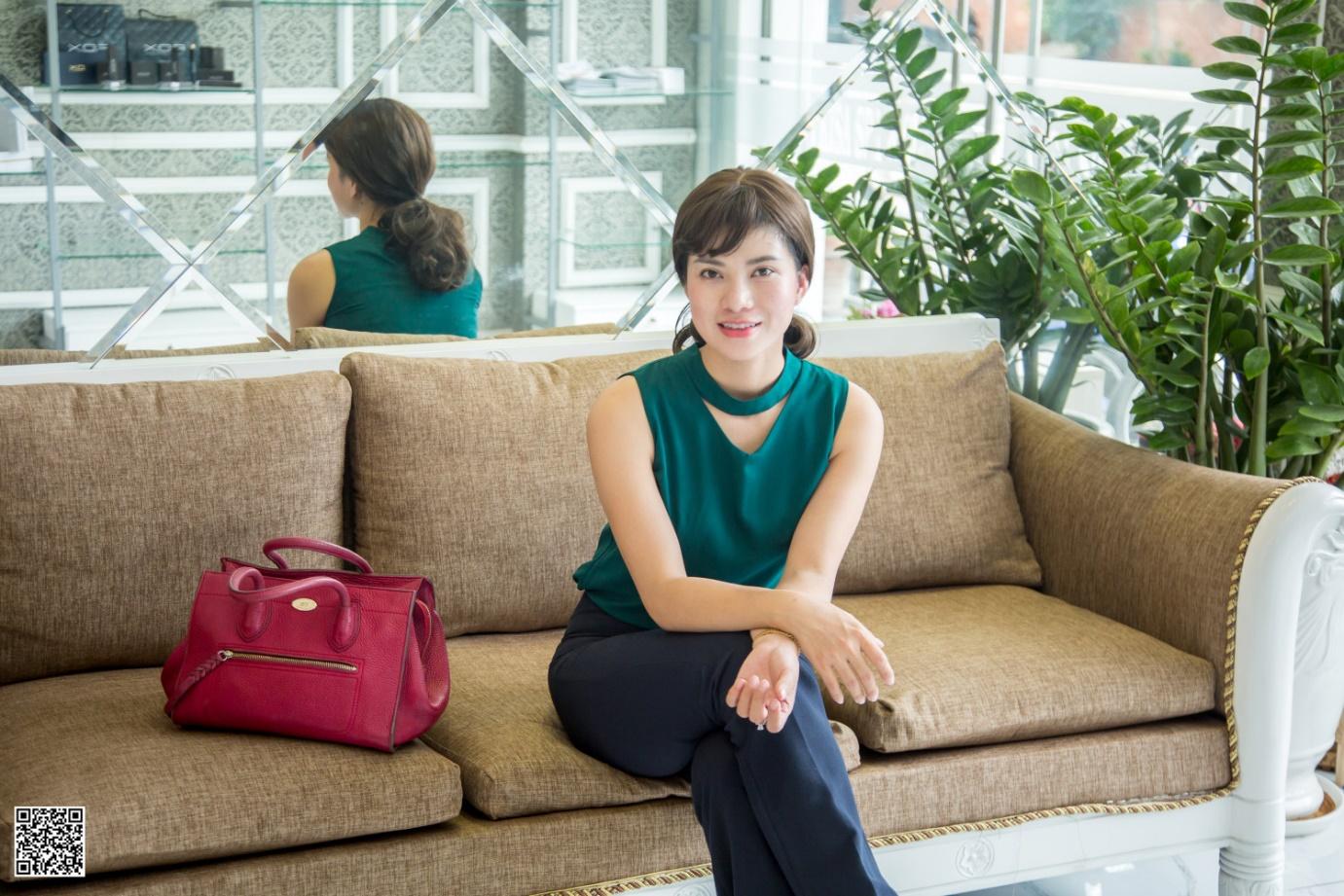 Nữ doanh nhân theo đuổi chữ TÂM & chữ TẦM trong kinh doanh làm đẹp