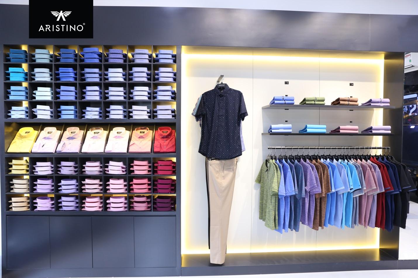 ARISTINO ra mắt thị trường thời trang nam tại TP Hồ Chí Minh