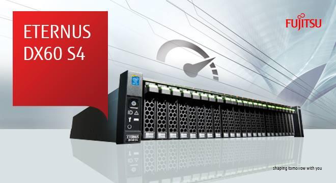 Tủ đĩa Fujitsu DX60S4: thiết bị lưu trữ SMB lý tưởng