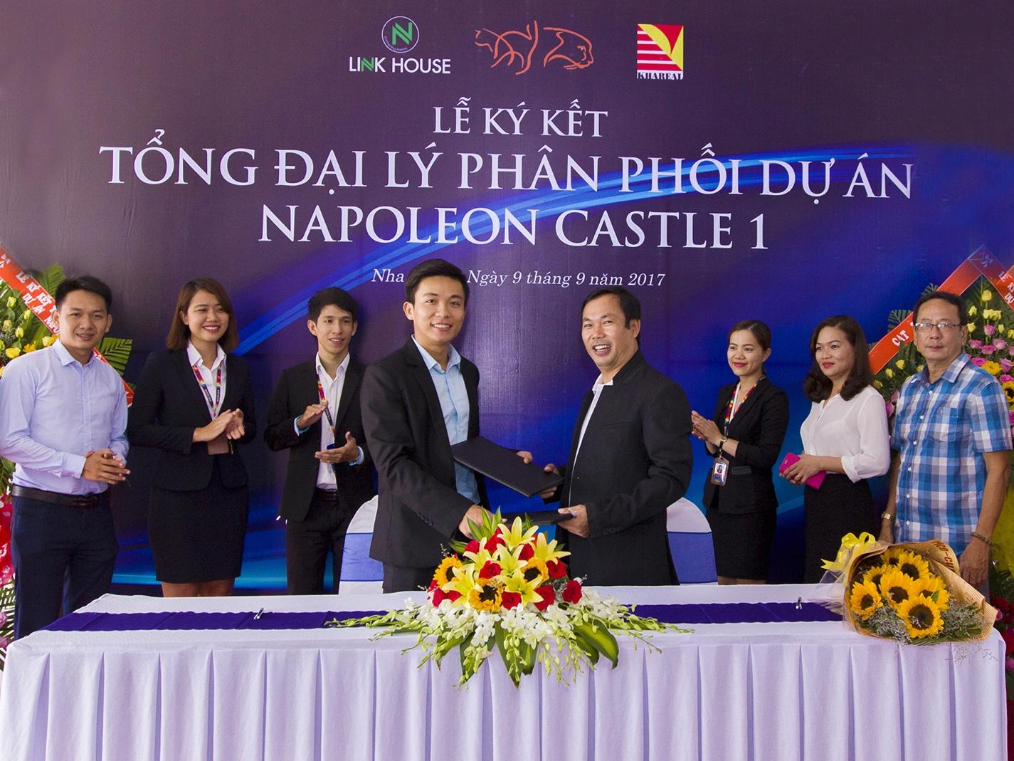 Linkhouse Nha Trang trở thành đối tác chiến lược phân phối dự án Napoleon Castle I
