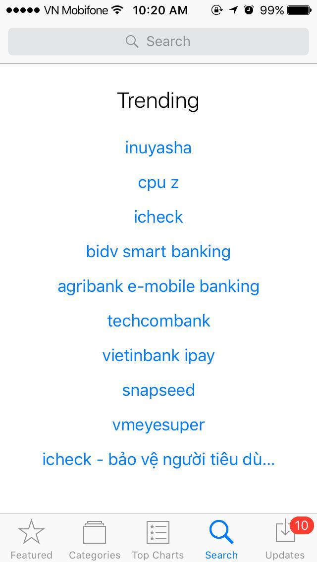 InuYasha là từ khóa được tìm kiếm nhiều nhất trên Appstore trong ngày ra mắt