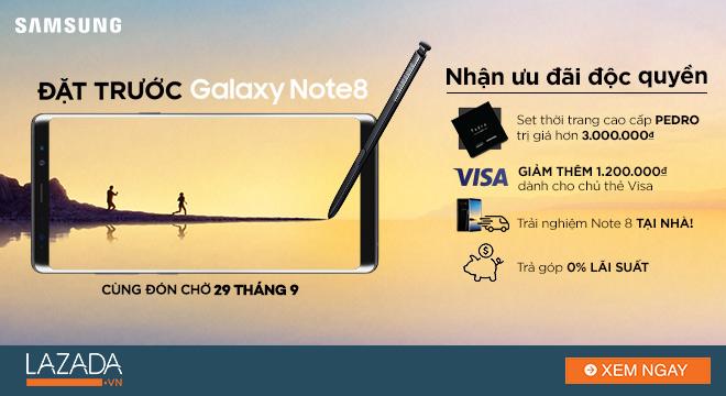 Điều gì làm cả thế giới bấn loạn vì Samsung Galaxy Note 8?