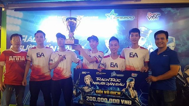 """EvaTeams đại diện Việt Nam tham gia """"World Cup Đột Kích"""" CFS 2017"""