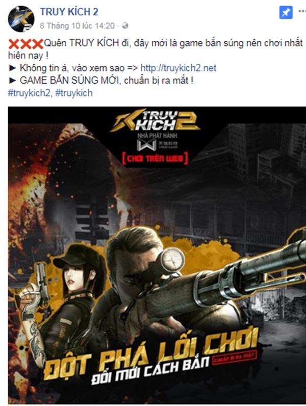 Lại xuất hiện game bắn súng tên Truy Kích 2