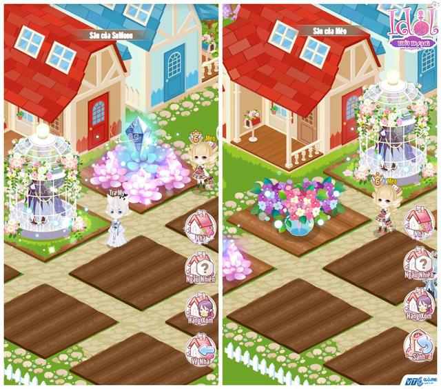 Vườn – nơi người chơi thu hoạch nguyên liệu chế tác phục trang mới