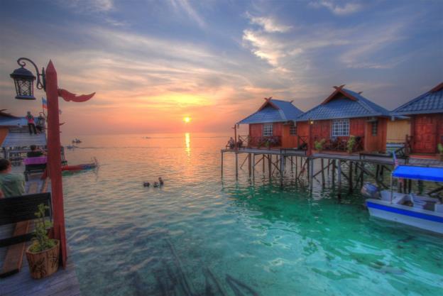 Mùa xuân lạc lối tại đảo thiên đường Mabul – Malaysia - Ảnh 7.