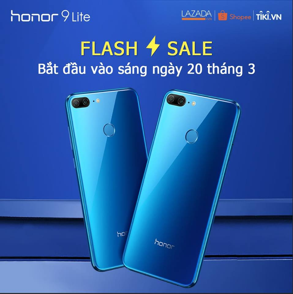 """Tân binh"""" smartphone Honor """"cháy hàng"""" trong đợt flash sale"""