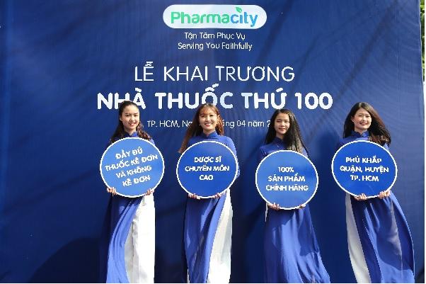 Khai trương nhà thuốc thứ 100, Pharmacity khẳng định độ phủ sóng tại Sài Gòn