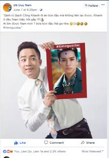 Giữa tâm bão #timnguoilac trên mạng xã hội, lộ tin Hoài Linh làm thám tử - Ảnh 3.