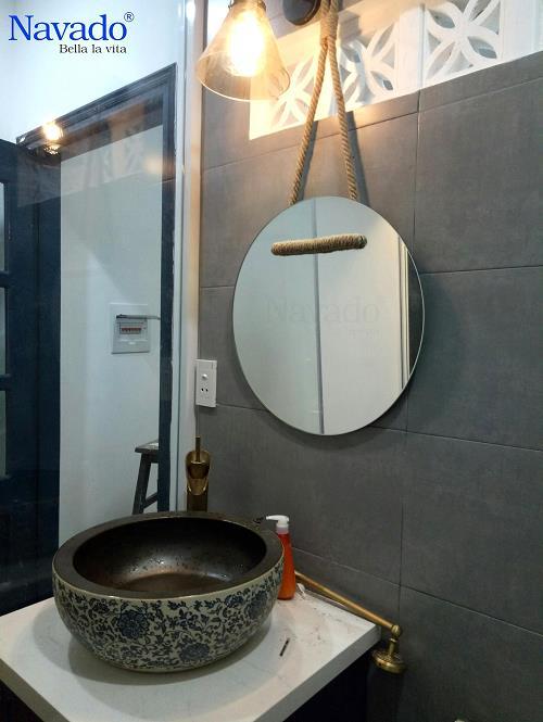Các mẫu gương phòng tắm nghệ thuật độc đáo nhất hiện nay - Ảnh 7.