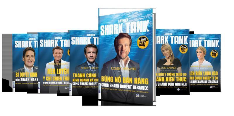 Review bộ sách quản trị kinh doanh American Shark Tank