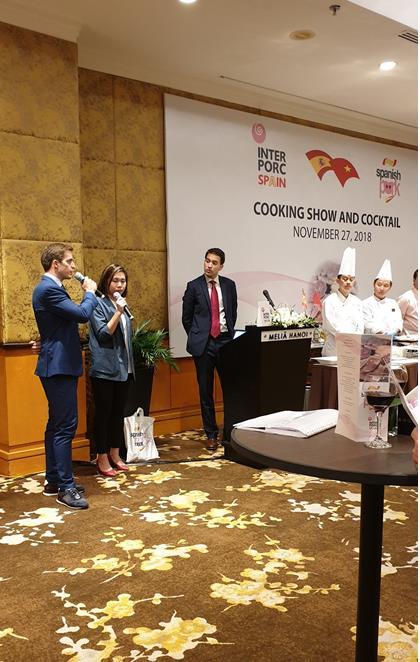 Người tiêu dùng Việt có thêm sự lựa chọn mới với thịt heo trắng nhập khẩu Tây Ban Nha