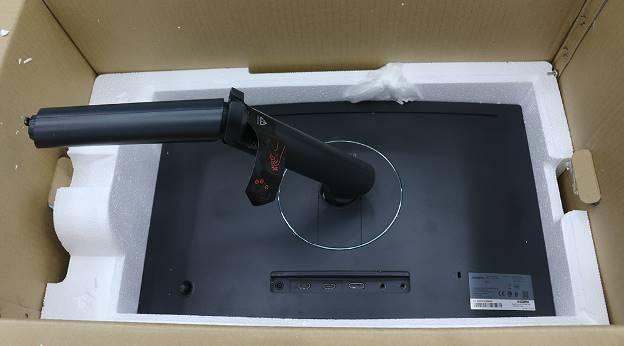 Đập hộp màn hình máy tính chơi game đang hot hiện nay: Samsung CFG70 - Ảnh 3.
