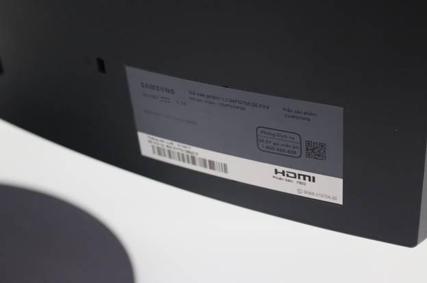 Đập hộp màn hình máy tính chơi game đang hot hiện nay: Samsung CFG70 - Ảnh 14.