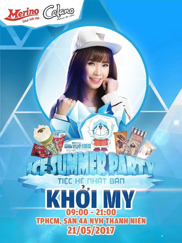 """Khởi My và Will 365 hứa hẹn """"quẩy"""" tưng bừng tiệc hè Nhật Bản tại Sài Gòn - Ảnh 1."""