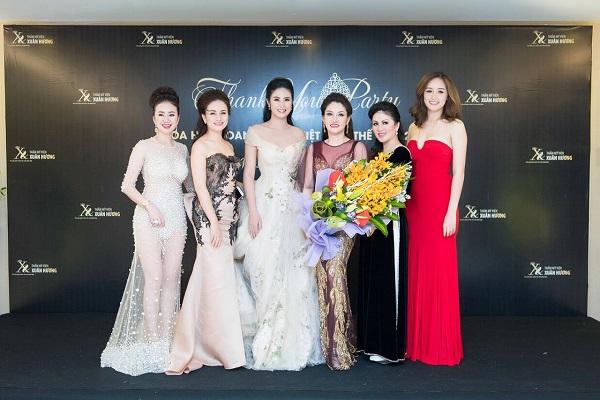 Dàn Hoa hậu, Á hậu Việt lộng lẫy khoe sắc tại sự kiện - Ảnh 6.