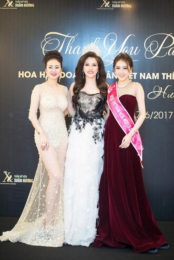 Dàn Hoa hậu, Á hậu Việt lộng lẫy khoe sắc tại sự kiện - Ảnh 8.