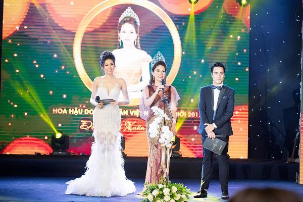 Dàn Hoa hậu, Á hậu Việt lộng lẫy khoe sắc tại sự kiện - Ảnh 16.