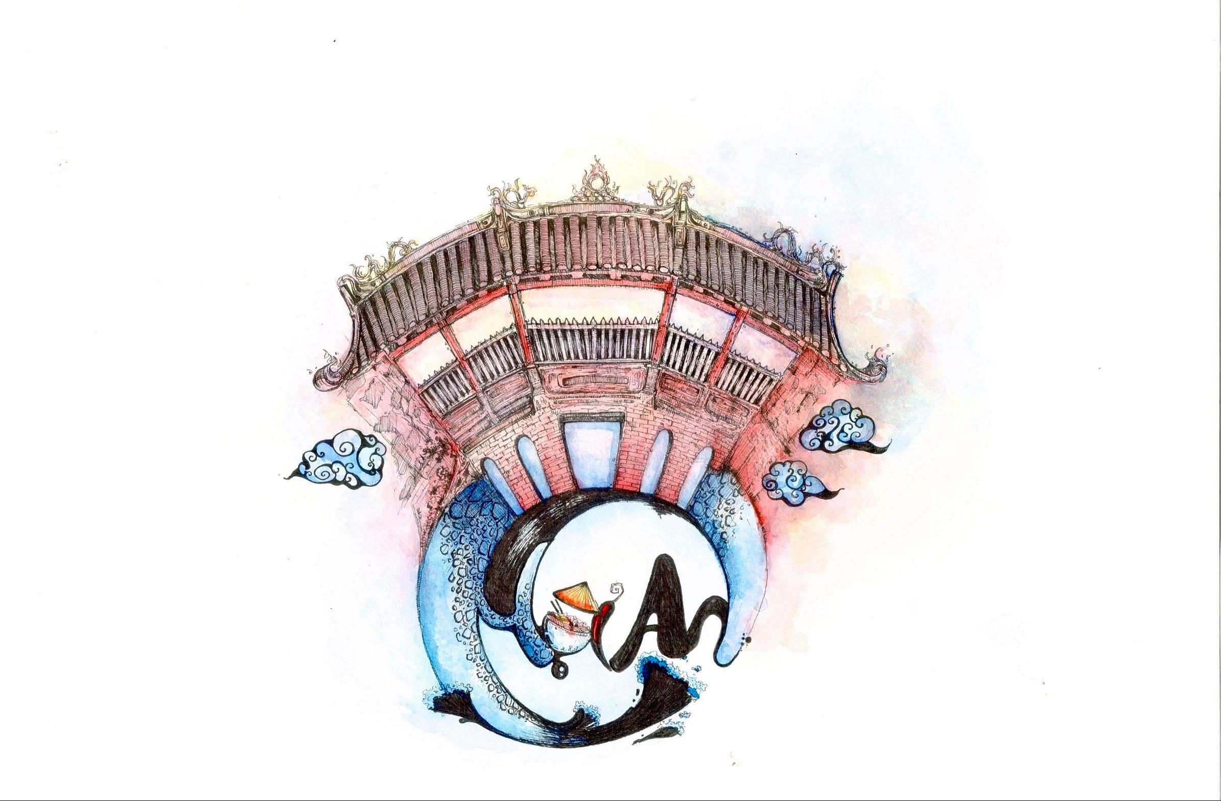 Lại có thêm bộ ảnh vẽ Việt Nam đẹp đến mê ...