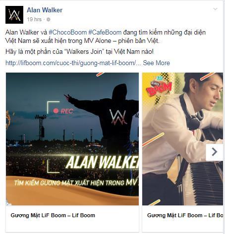 Alan Walker động đậy làm MV Alone phiên bản Việt - Ảnh 1.