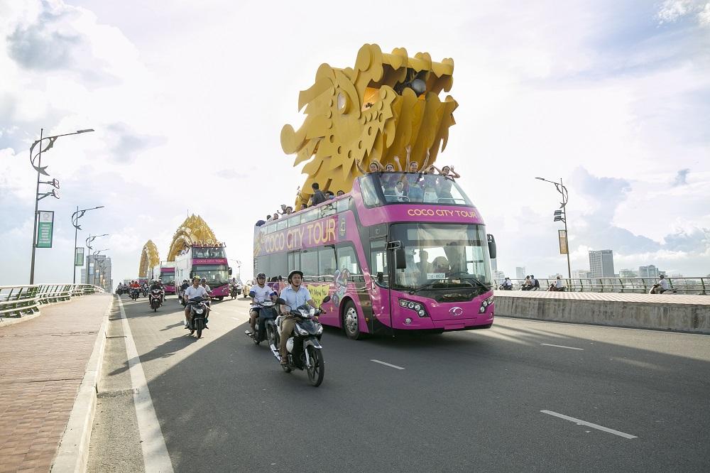 Khám phá tuyến xe bus 2 tầng phục vụ du lịch đầu tiên tại Đà Nẵng - Ảnh 2.