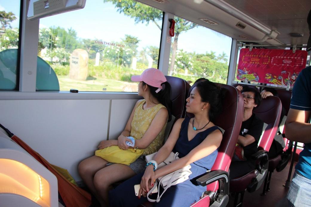 Khám phá tuyến xe bus 2 tầng phục vụ du lịch đầu tiên tại Đà Nẵng - Ảnh 5.