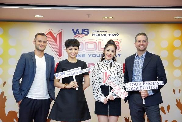 Miu Lê và Chi Pu cười sảng khoái trên ghế nóng V-Idols - Ảnh 2.