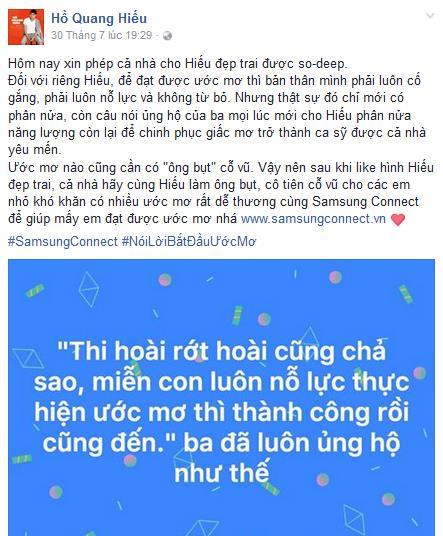Sao Việt đồng loạt tham gia trào lưu Nói lời bắt đầu ước mơ - Ảnh 3.